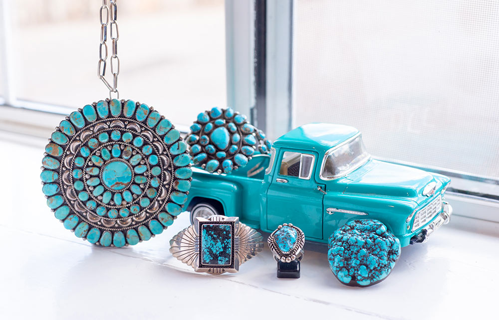 Traditional Native American jewelry for sale at Marc Howard Custom Jewelry Design in Santa Fe, NM
