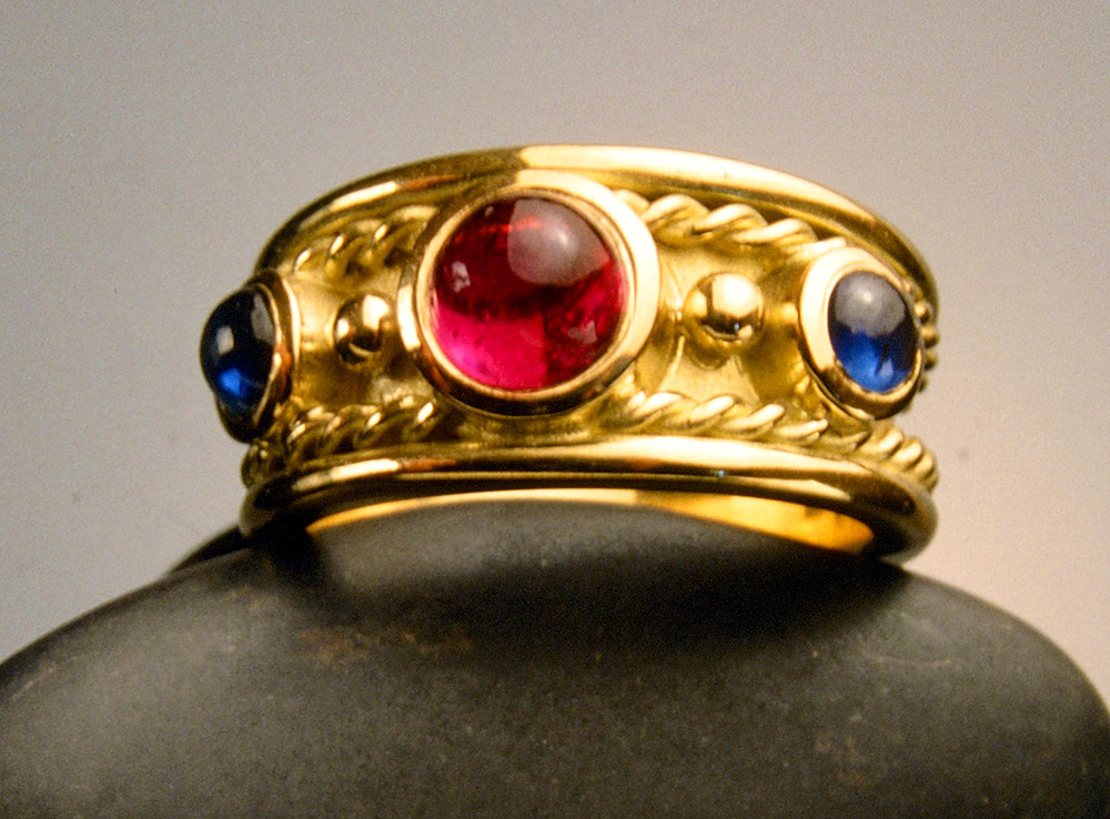 Custom designed ring by Marc Howard Custom Jewelry Design