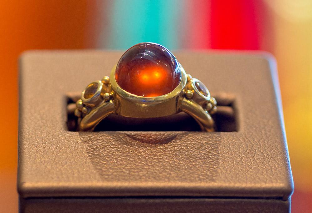 Custom designed ring by Marc Howard Custom Jewelry Design in Santa Fe, NM